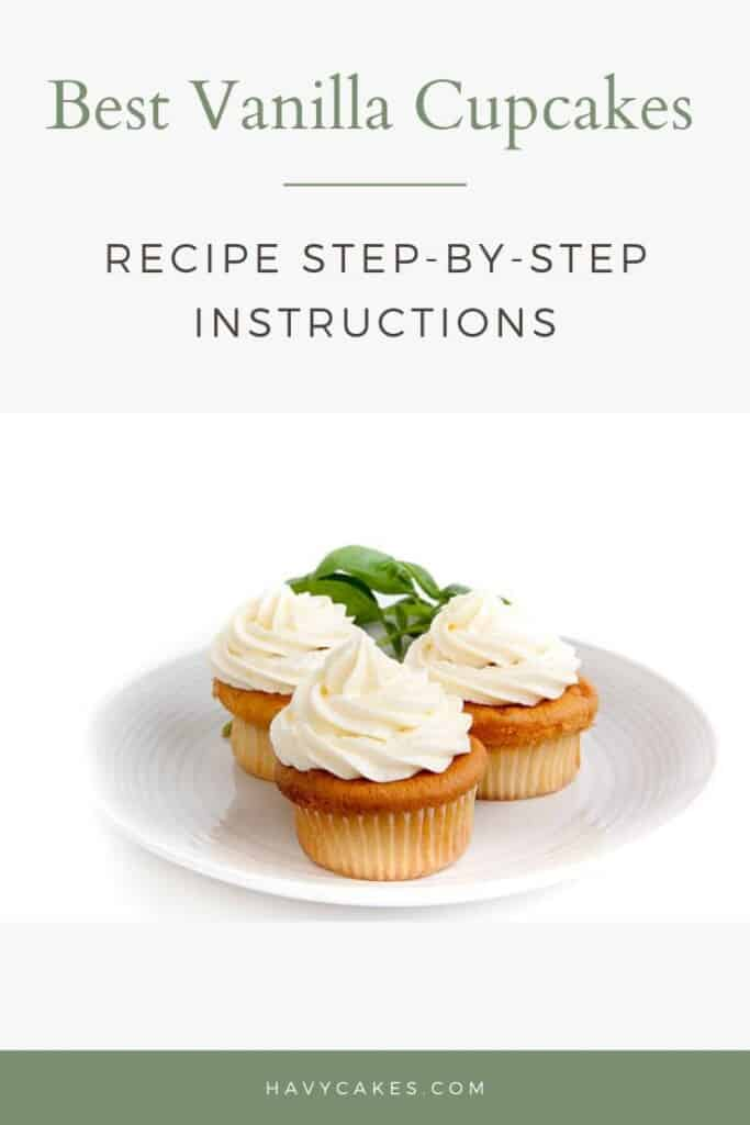 Best Vanilla Cupcakes Recipe - Step-by-Step Instructions