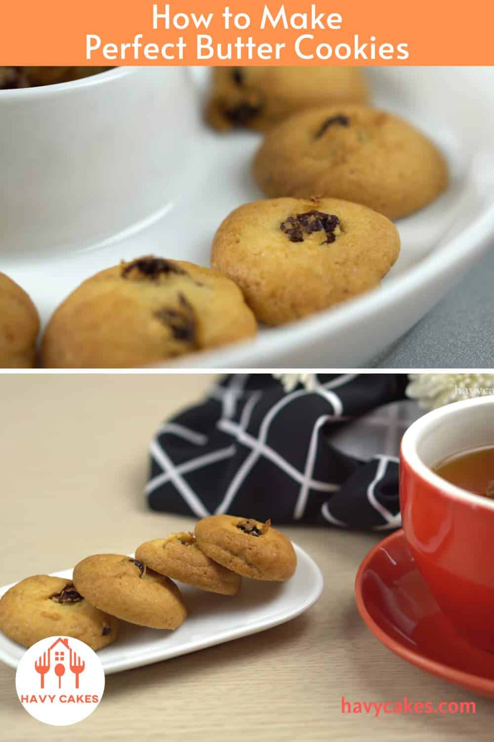 How to make Butter Cookies: End