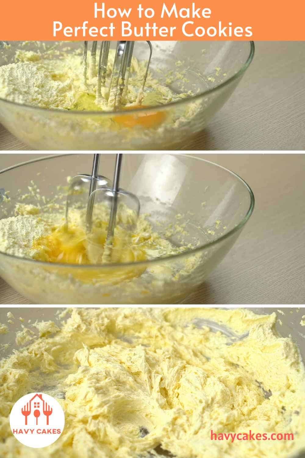 How to make Butter Cookies: Step2