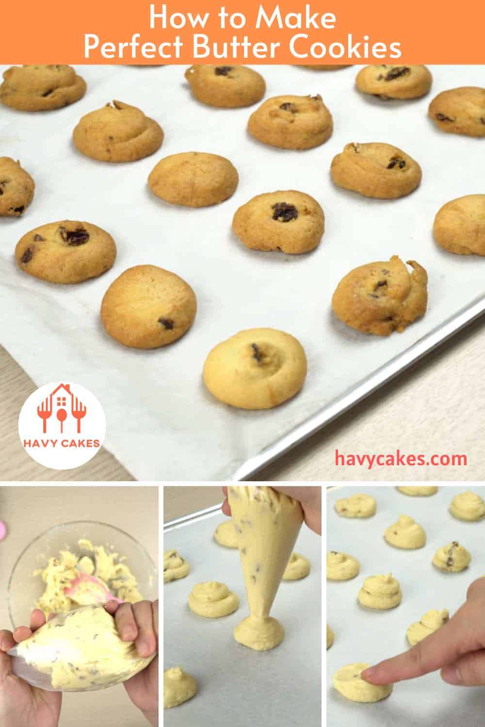How to make Butter Cookies: Step5