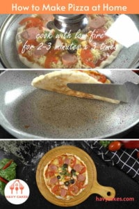 How to make pizza at home: Step3