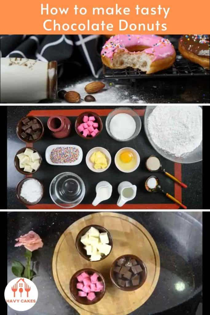 How to make chocolate donuts-instructions