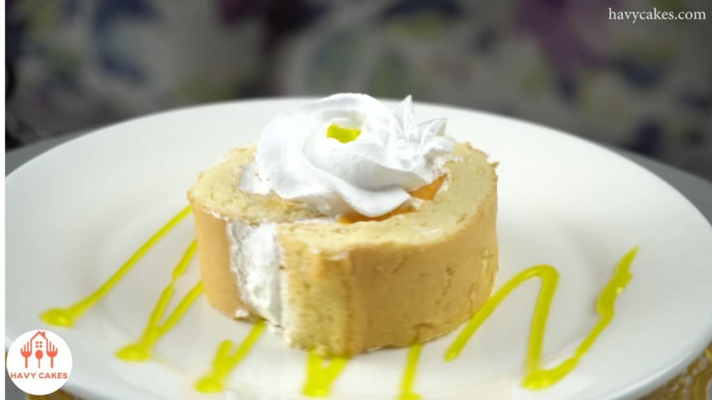 How to make mango creamy Swiss roll: Feature