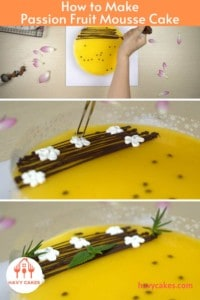How to make Passion Fruit Mousse Cake