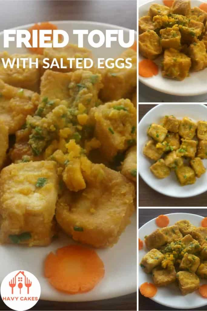 Fried tofu with salted eggs howto: Intro