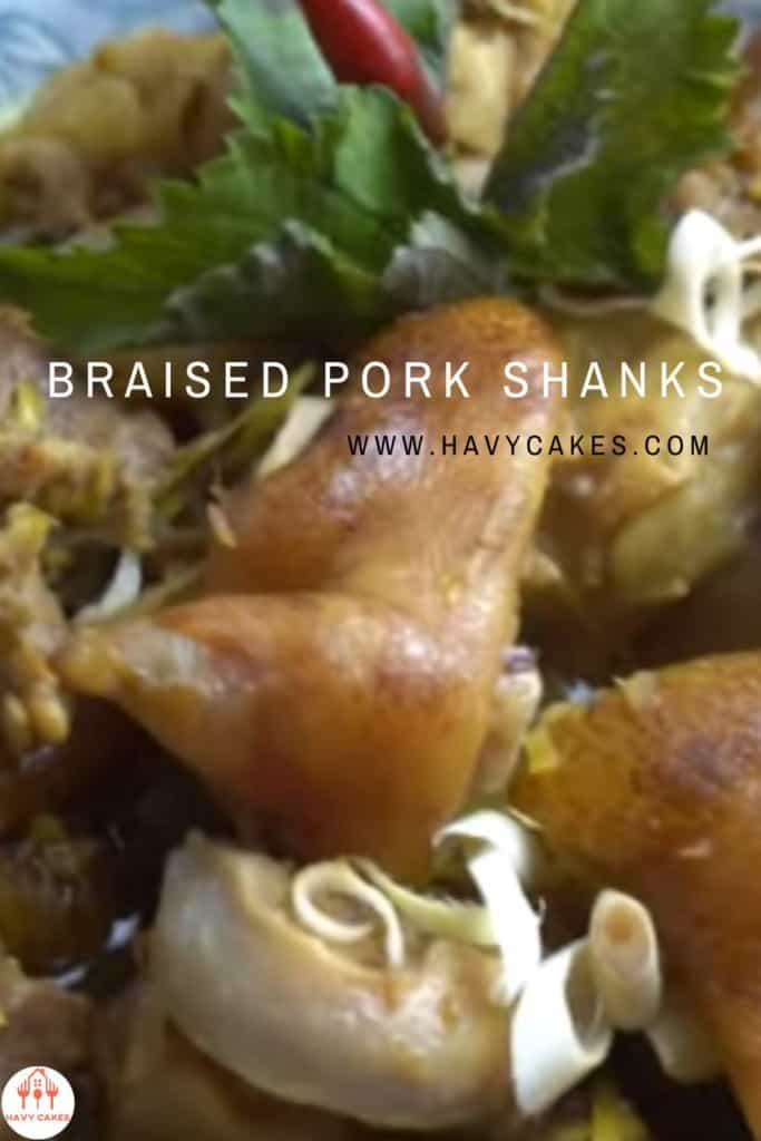 how to cook Braised Pork Shank recipe
