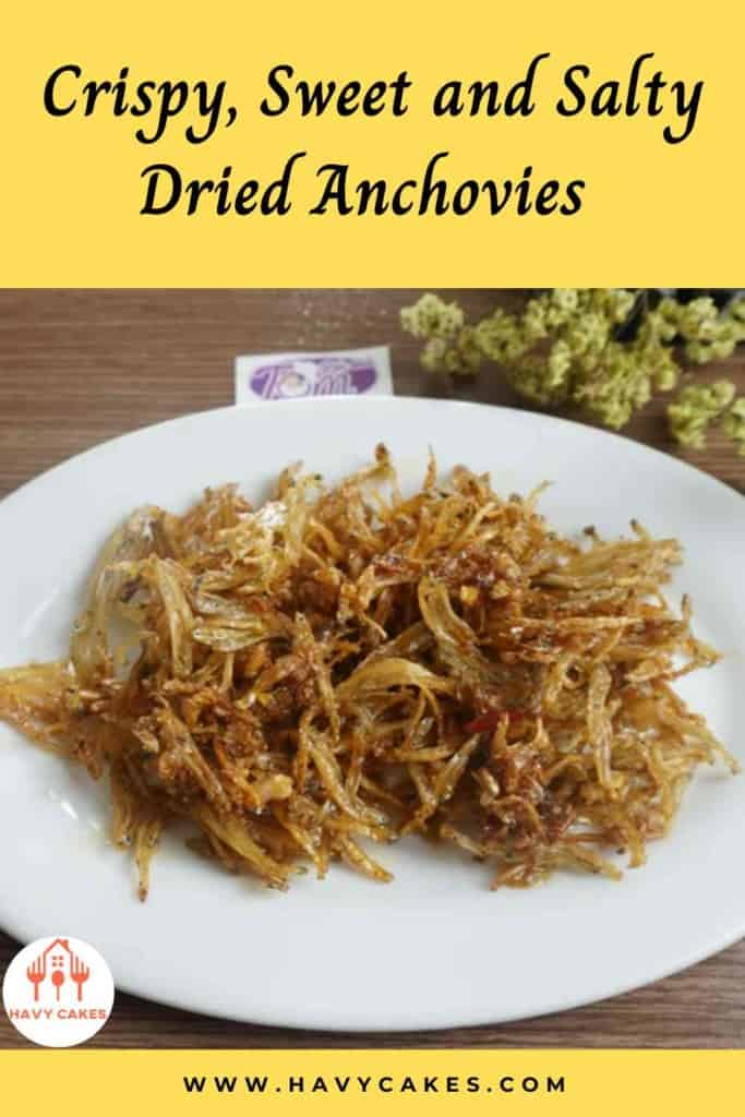 Crispy, sweet and salty dried anchovies howto: Intro