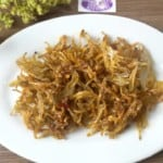 Crispy, sweet and salty dried anchovies howto: Thumbnail