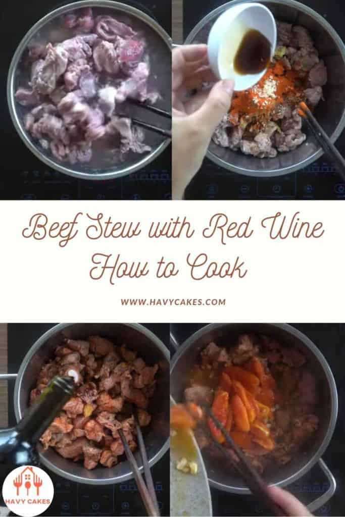 How to Cook Red Wine Beef Stew