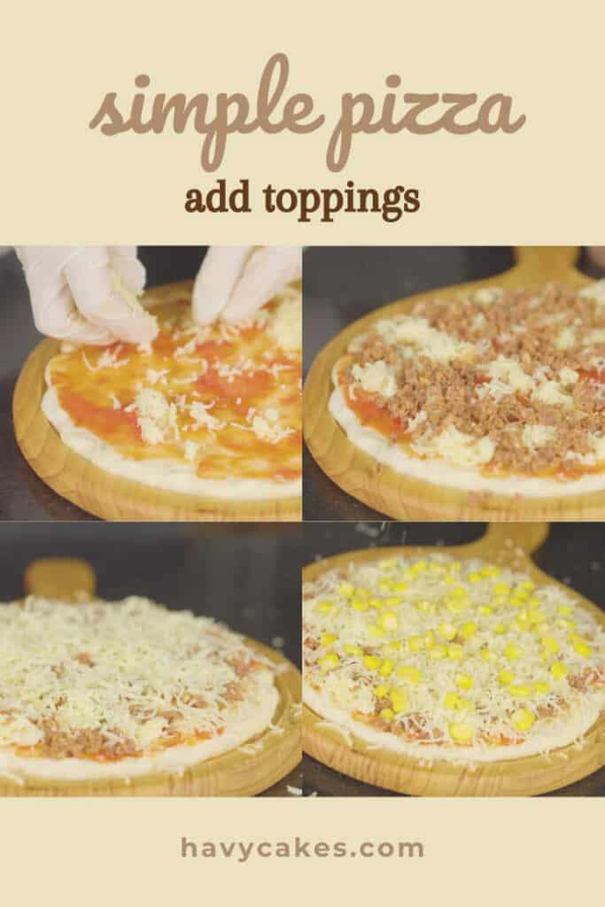 3 - add the toppings