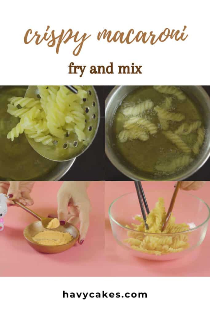 3 - fry and mix