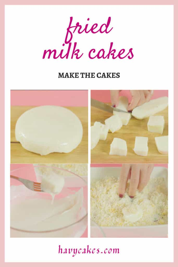 4 - make the cakes