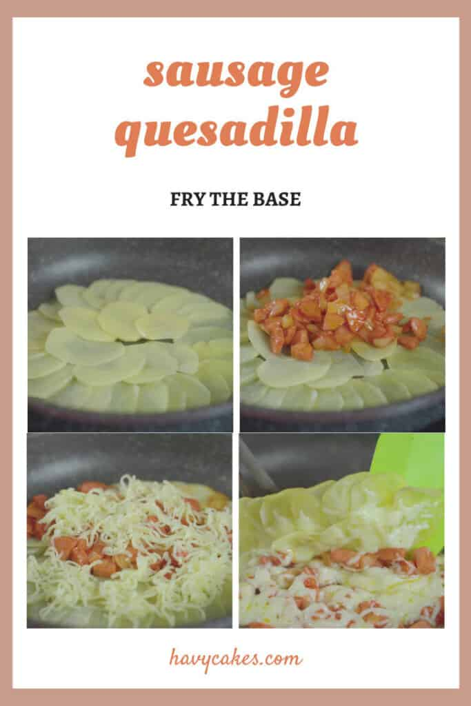 3 - fry the base