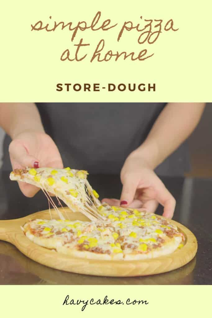 about store-bought pizza dough