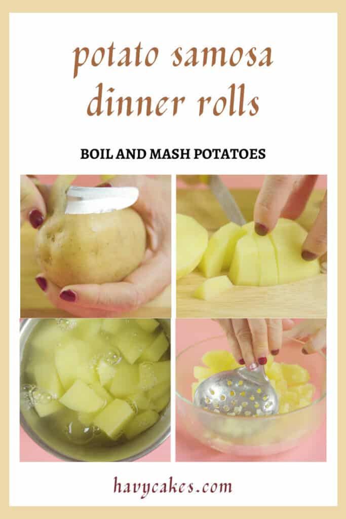 1 - boil and mash the potatoes