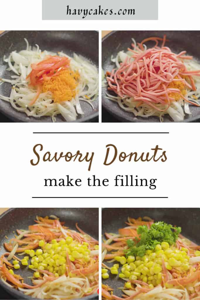 make the filling for donuts