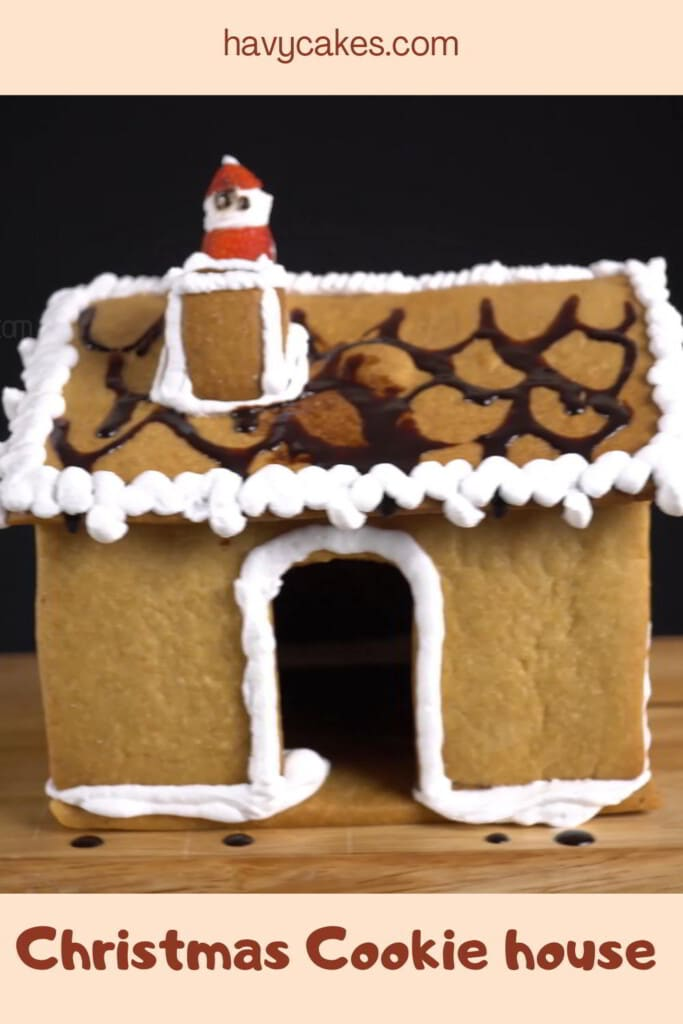 Christmas House from Cookies