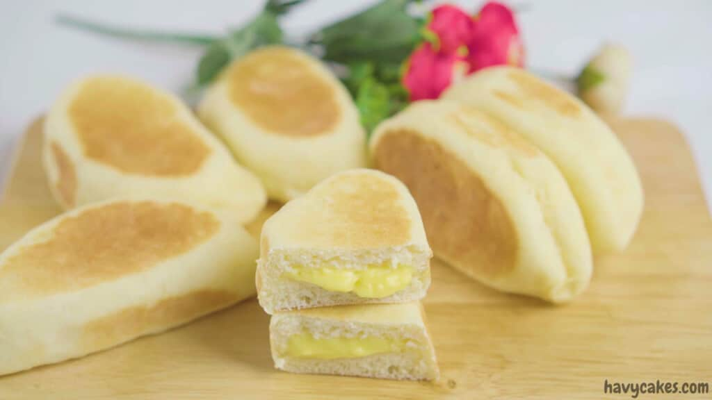 how to make tender buns with creamy filling