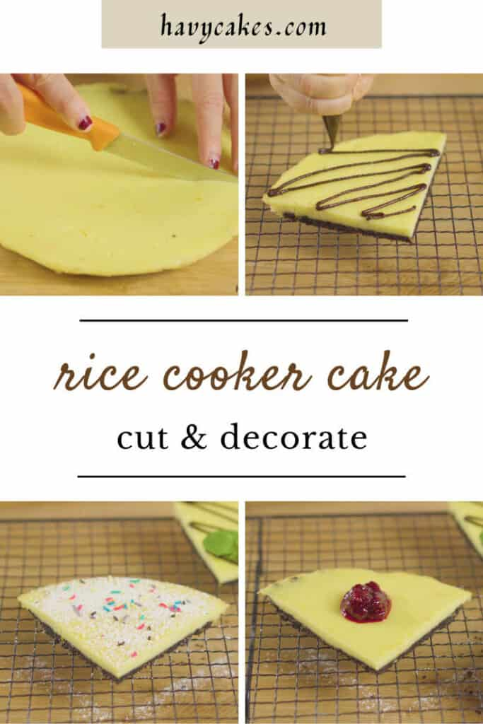 decorate the no-oven cheesecake