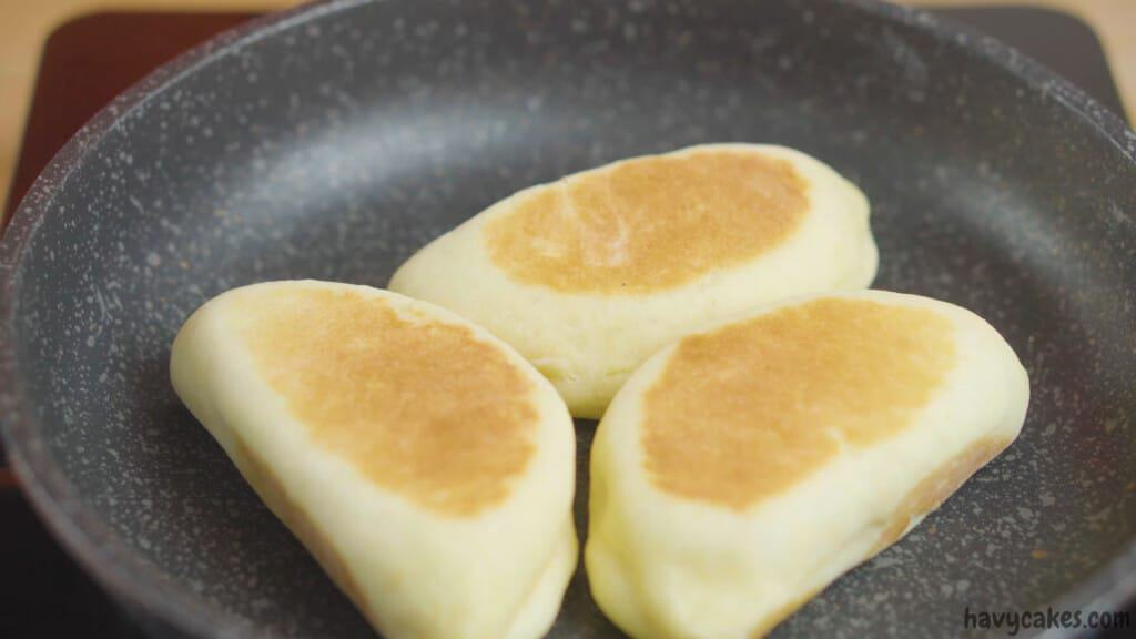 fry the buns without oven