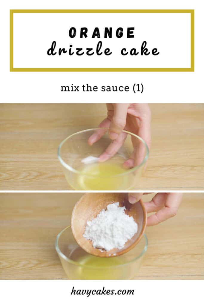 5 - mix the absorbed sauce