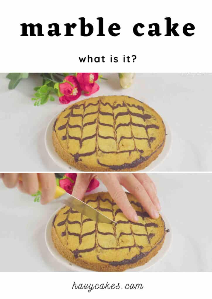 what is marble cake?