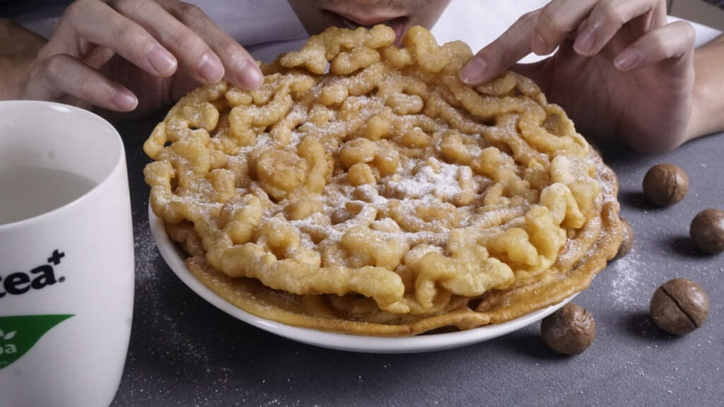 how to make funnel cake at home?