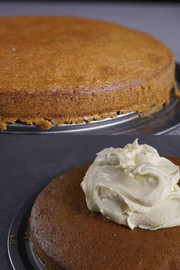 bake the bars and frost with cream cheese