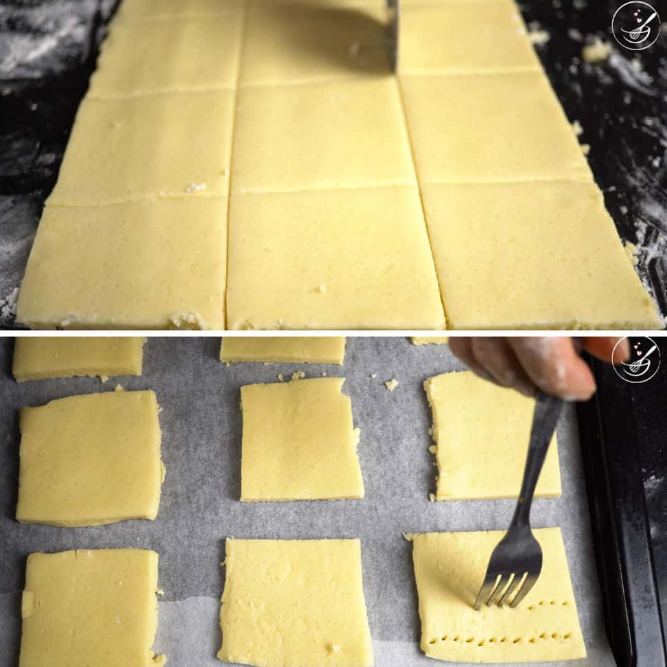 3 - shape the cookies