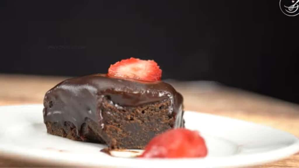 Feature of air fryer chocolate cake